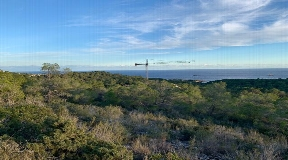 Hilltop 100000m2 plot for sale near Cala Bonita