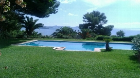 Wonderful villa in Es Cubells with amazing views for sale