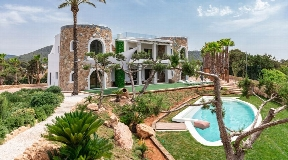 Nice villa in Cala Jondal for sale on Ibiza with amazing views
