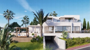 Luxurious villa in Can Furnet  with nice views to Dalt Vila and sea for sale