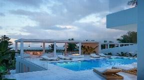 Luxury frontline villa in Talamanca with great views