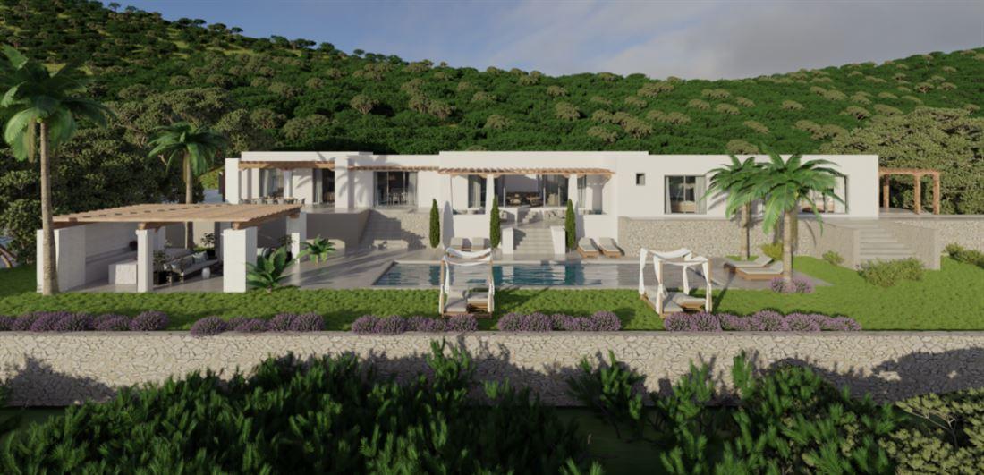 Blackstad's luxurious villa just 10 minutes 'walk from Santa Gertudis