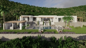Blackstad's luxurious villa just 10 minutes 'walk from Santa Gertudis