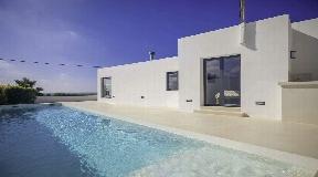 Modern villa with sea views in Cala Codolar for sale
