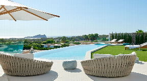 Brand new built luxurious villa situated in San Josep