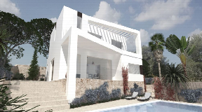 Family villa on urban land in Cap Martinet for sale