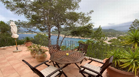 Nice villa with spectacular views of Cala San Vicente for sale