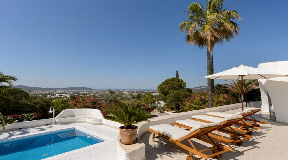 Wonderful rebuilt villa in Ibiza with unobstructed sea view in Ibiza for sale