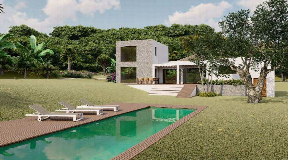 Nice development project with approved licence close to Ibiza Town